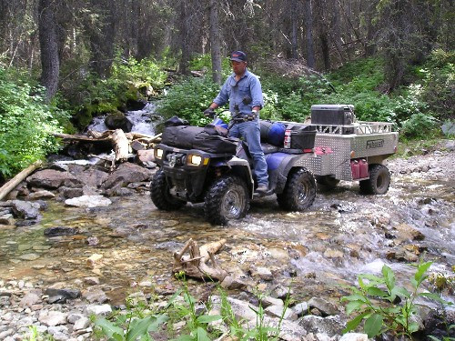 Fabcraft Atv Trailer For Camping And Hunting